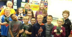 School Visit To Noel LeVasseur Elementary School 2016